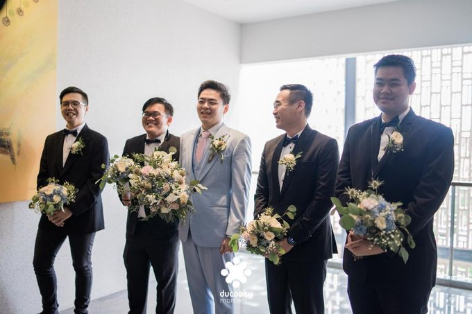 Harfy Chindy Wedding   The First Look by Florencia Augustine - 001