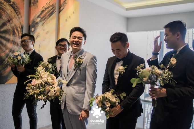 Harfy Chindy Wedding   The First Look by Florencia Augustine - 003