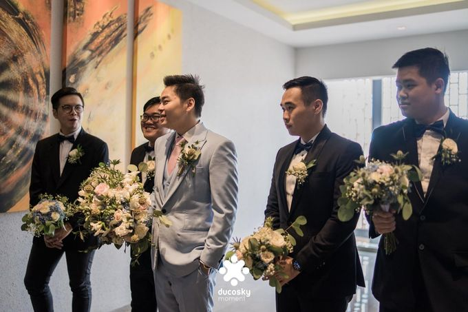 Harfy Chindy Wedding   The First Look by Florencia Augustine - 004