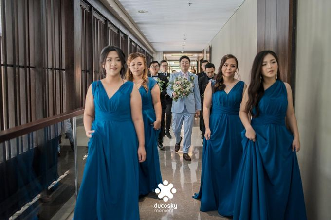 Harfy Chindy Wedding | The First Look by Florencia Augustine - 013