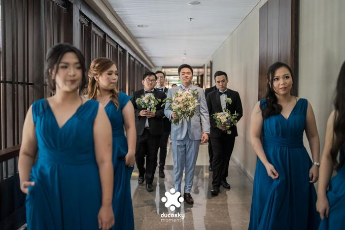 Harfy Chindy Wedding | The First Look by Florencia Augustine - 014