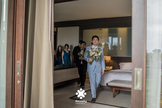 Harfy Chindy Wedding | The First Look by Florencia Augustine - 019