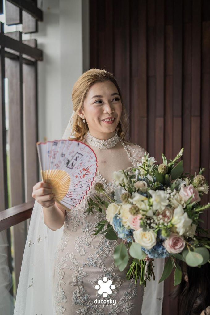 Harfy Chindy Wedding | The First Look by Florencia Augustine - 037