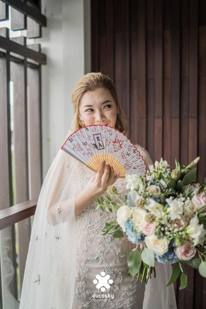 Harfy Chindy Wedding | The First Look by Florencia Augustine - 038