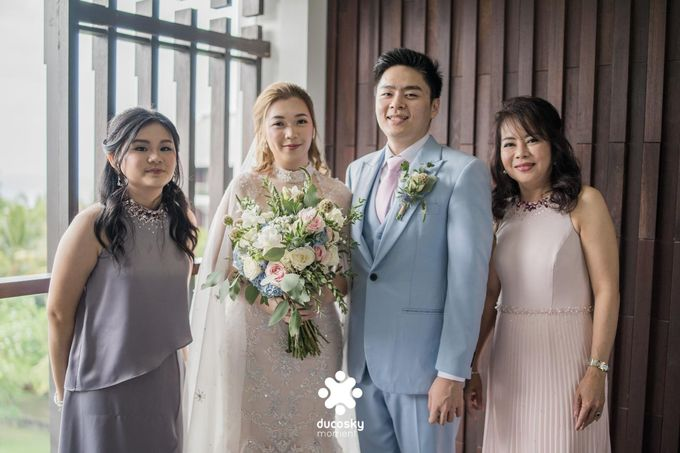 Harfy Chindy Wedding | The First Look by Florencia Augustine - 039