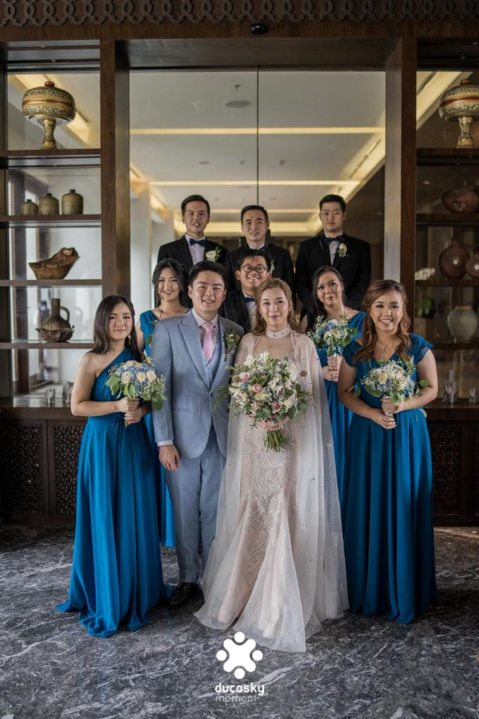 Harfy Chindy Wedding | The First Look by Florencia Augustine - 043
