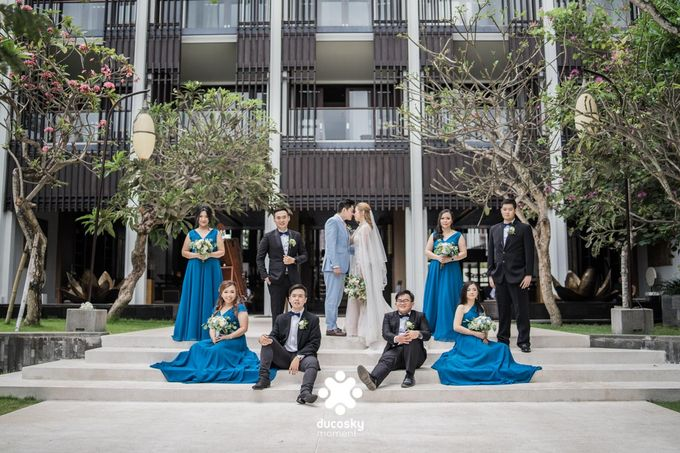 Harfy Chindy Wedding | The First Look by Florencia Augustine - 044