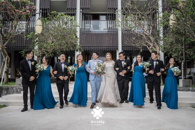 Harfy Chindy Wedding | The First Look by Florencia Augustine - 048
