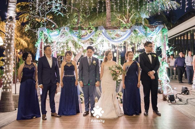 Harfy Chindy Wedding | Stardust on The Beach by Florencia Augustine - 007