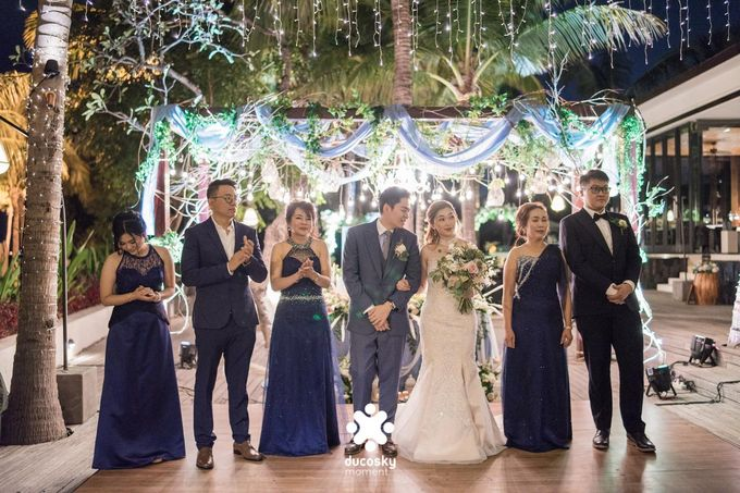 Harfy Chindy Wedding | Stardust on The Beach by Florencia Augustine - 008