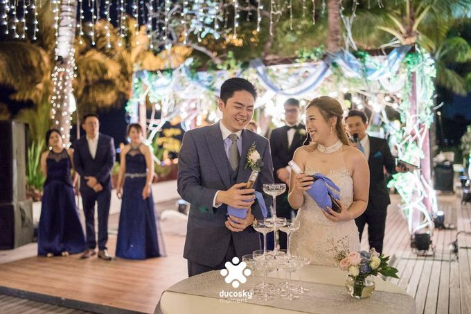 Harfy Chindy Wedding | Stardust on The Beach by Florencia Augustine - 010