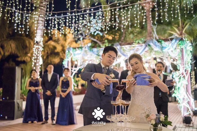 Harfy Chindy Wedding | Stardust on The Beach by Florencia Augustine - 011