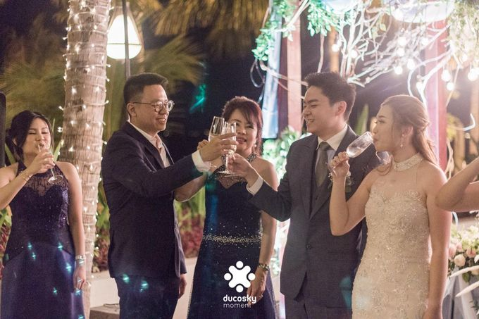 Harfy Chindy Wedding | Stardust on The Beach by Florencia Augustine - 014