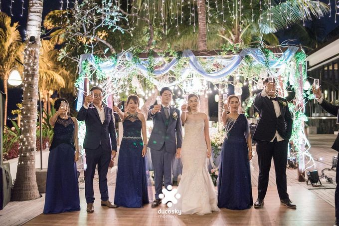 Harfy Chindy Wedding | Stardust on The Beach by Florencia Augustine - 012