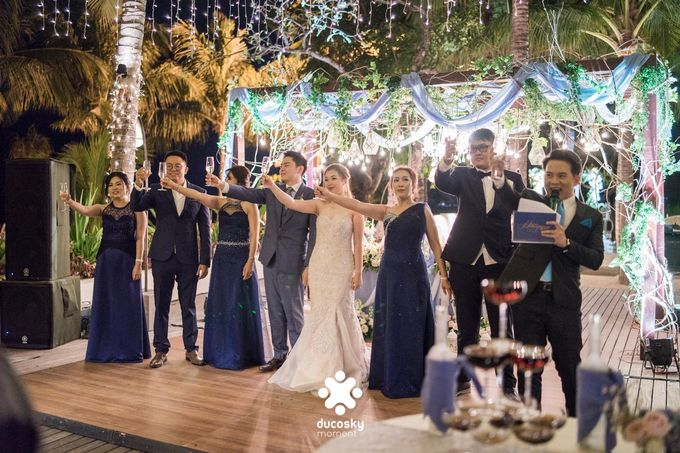 Harfy Chindy Wedding | Stardust on The Beach by Florencia Augustine - 013