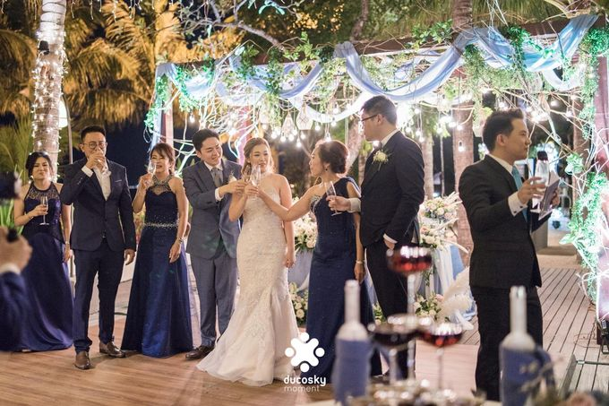 Harfy Chindy Wedding | Stardust on The Beach by Florencia Augustine - 015