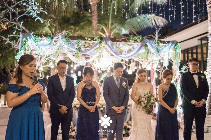 Harfy Chindy Wedding | Stardust on The Beach by Florencia Augustine - 017