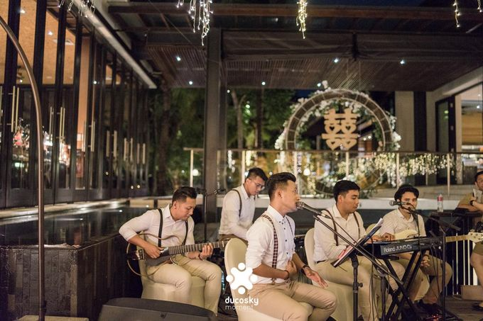 Harfy Chindy Wedding | Stardust on The Beach by Florencia Augustine - 020
