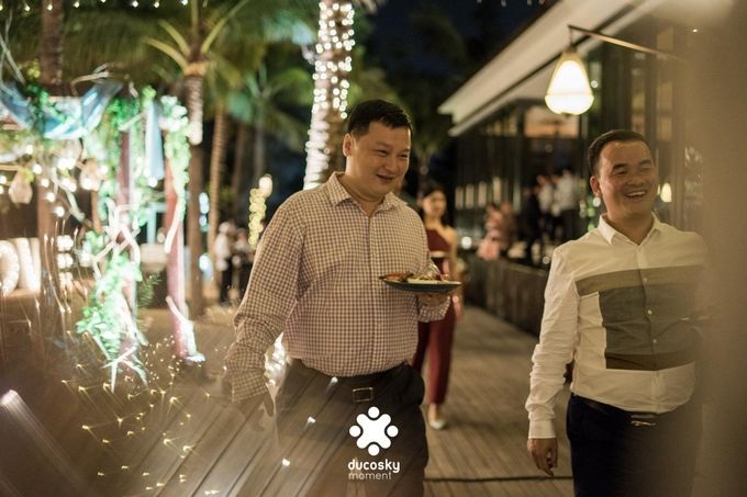 Harfy Chindy Wedding | Stardust on The Beach by Florencia Augustine - 021
