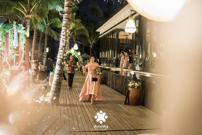 Harfy Chindy Wedding | Stardust on The Beach by Florencia Augustine - 022
