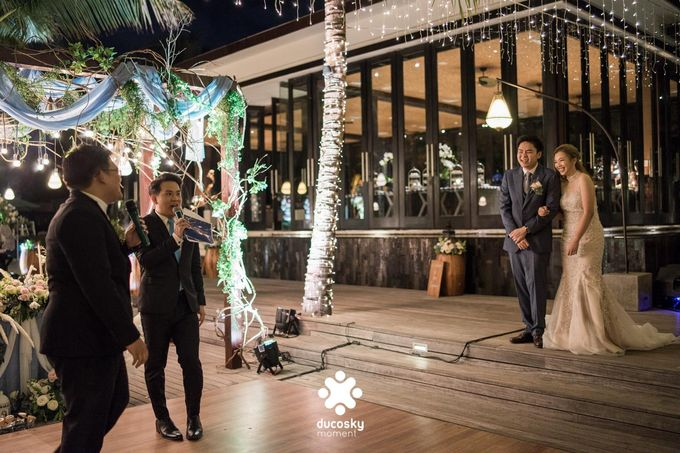 Harfy Chindy Wedding | Stardust on The Beach by Florencia Augustine - 031