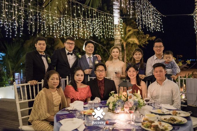 Harfy Chindy Wedding | Stardust on The Beach by Florencia Augustine - 033