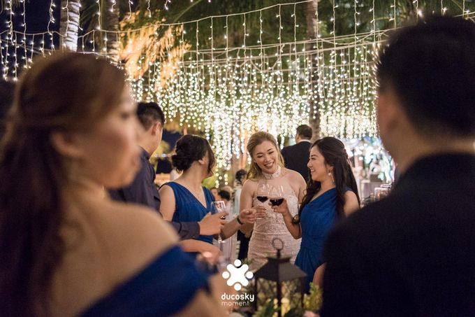 Harfy Chindy Wedding | Stardust on The Beach by Florencia Augustine - 034