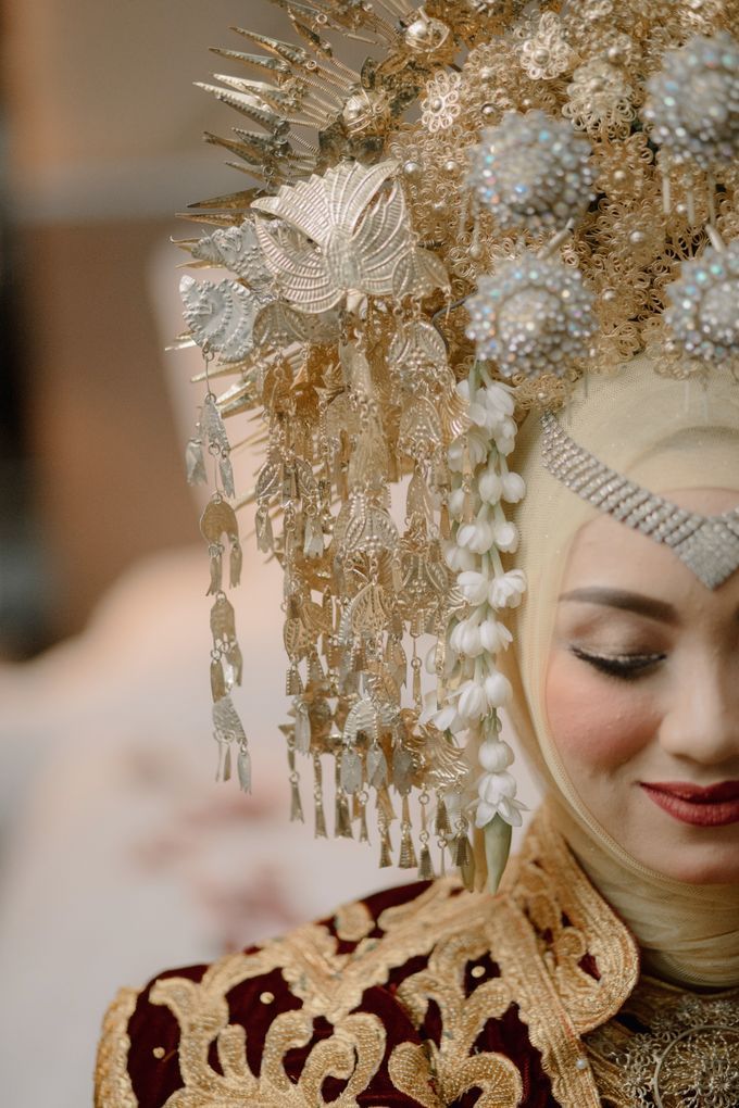 Pernikahan Adat Minang Ala Anggi Reza by Harry and Friends Organizer - 007