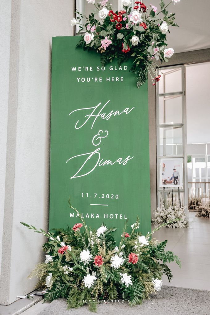 The Wedding of Hasna and Dimas by Elior Design - 003