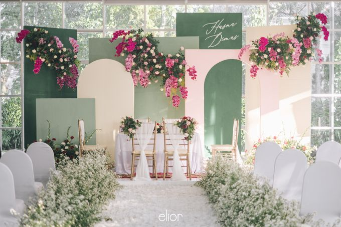 The Wedding of Hasna and Dimas by Elior Design - 010