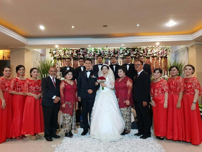 Debora's Wedding Bouquet❤️ by Hatiku Florist - 001
