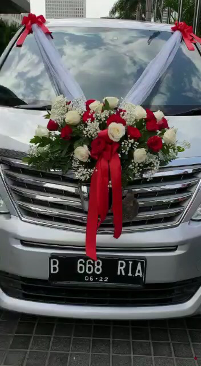 Wedding Car Decor 5/1/18 by Hatiku Florist - 001