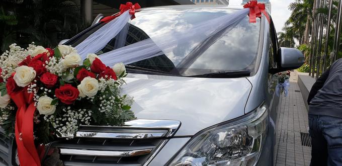 Wedding Car Decor 5/1/18 by Hatiku Florist - 003