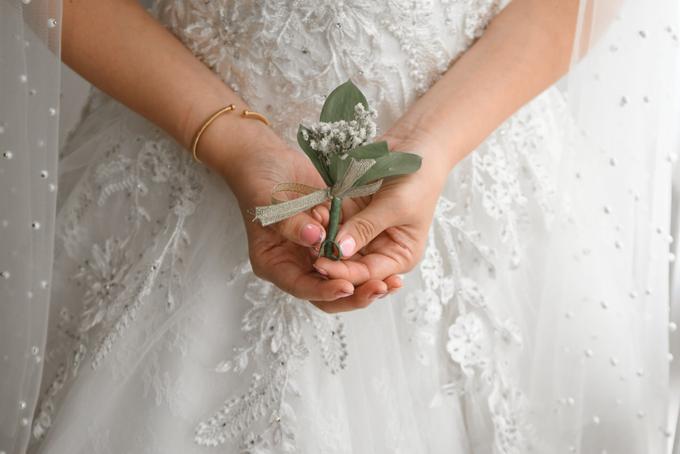 Gracia's  Wedding Bouquet by Hatiku Florist - 004