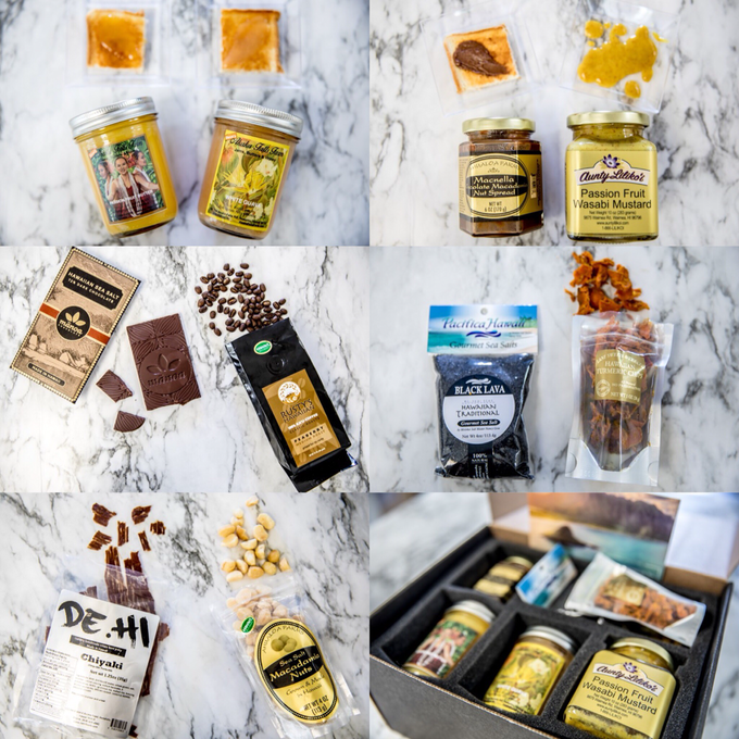Hawaii Gourmet Gift Box by Hawaii Gourmet Gift Box - 001