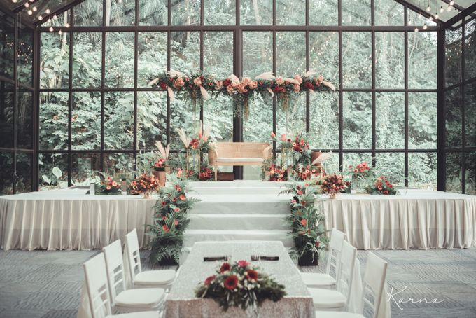 Beautiful Wedding in Forest Valley Hall, Malaysia by Karna Pictures - 013