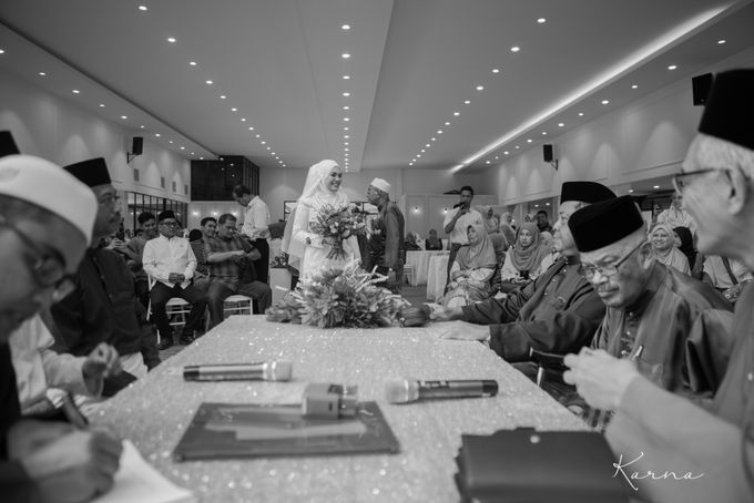 Beautiful Wedding in Forest Valley Hall, Malaysia by Karna Pictures - 021