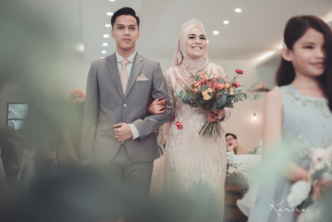 Beautiful Wedding in Forest Valley Hall, Malaysia by Karna Pictures - 004