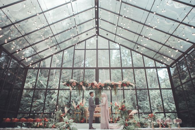 Beautiful Wedding in Forest Valley Hall, Malaysia by Karna Pictures - 001