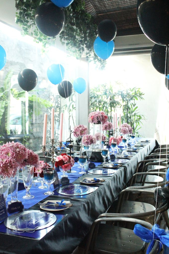 Nurull's Electric Blue Birthday Lunch by 1994 Decoration - 002