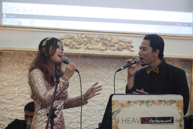 Full Acoustic + Keyboard at International Wedding by HEAVEN ENTERTAINMENT - 008