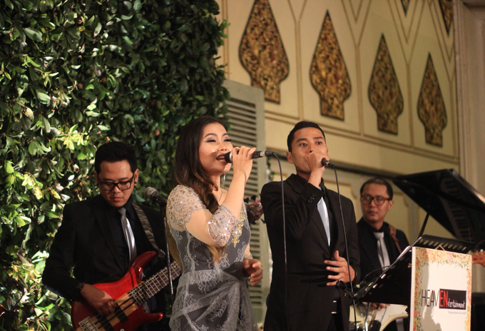 Mini orchestra for Nysa & Akbaral Wedding by HEAVEN ENTERTAINMENT - 006