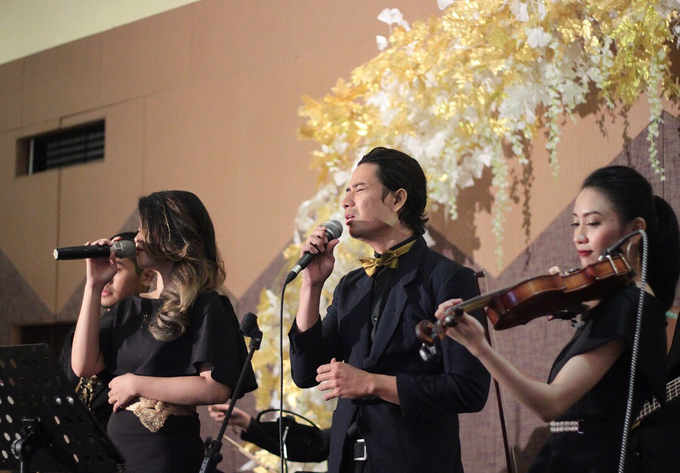 Full Band with saxo & violin by HEAVEN ENTERTAINMENT - 016