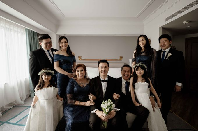 Hendra & Diana Wedding at Le Meridien Hotel Jakarta by AKSA Creative - 014