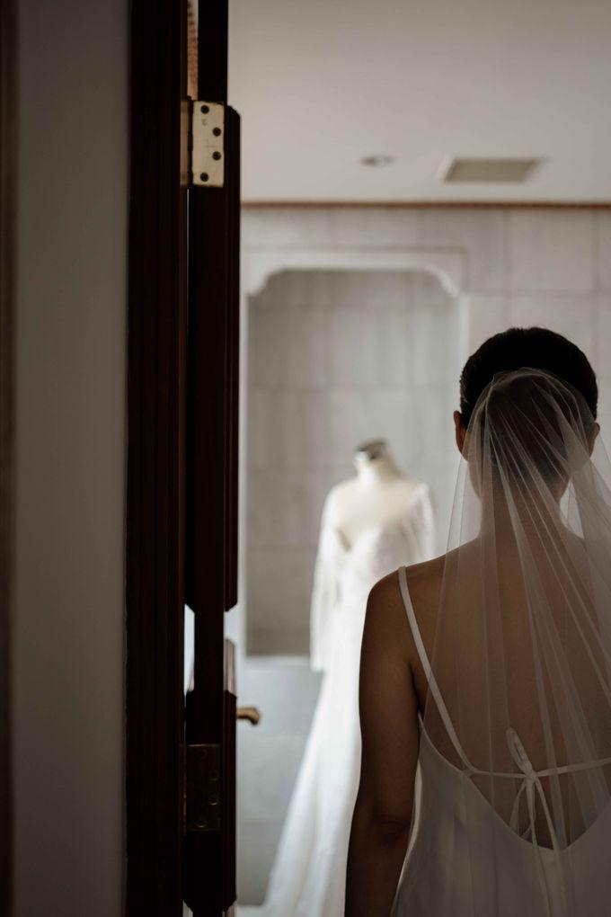 Hendra & Diana Wedding at Le Meridien Hotel Jakarta by AKSA Creative - 017