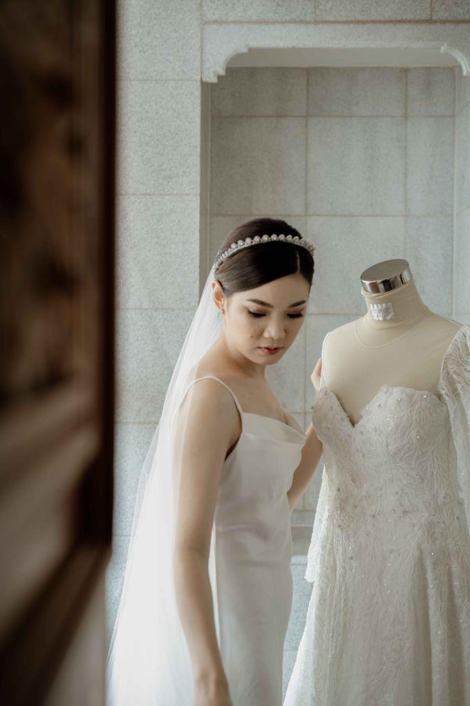 Hendra & Diana Wedding at Le Meridien Hotel Jakarta by AKSA Creative - 018