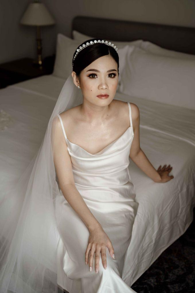 Hendra & Diana Wedding at Le Meridien Hotel Jakarta by AKSA Creative - 019