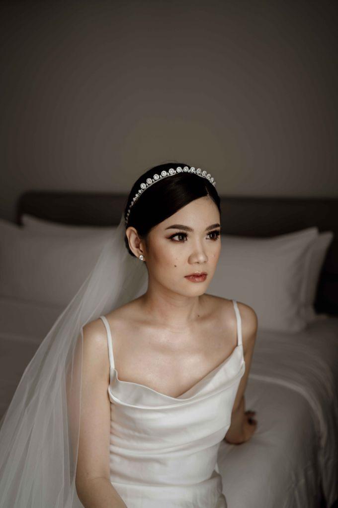 Hendra & Diana Wedding at Le Meridien Hotel Jakarta by AKSA Creative - 022