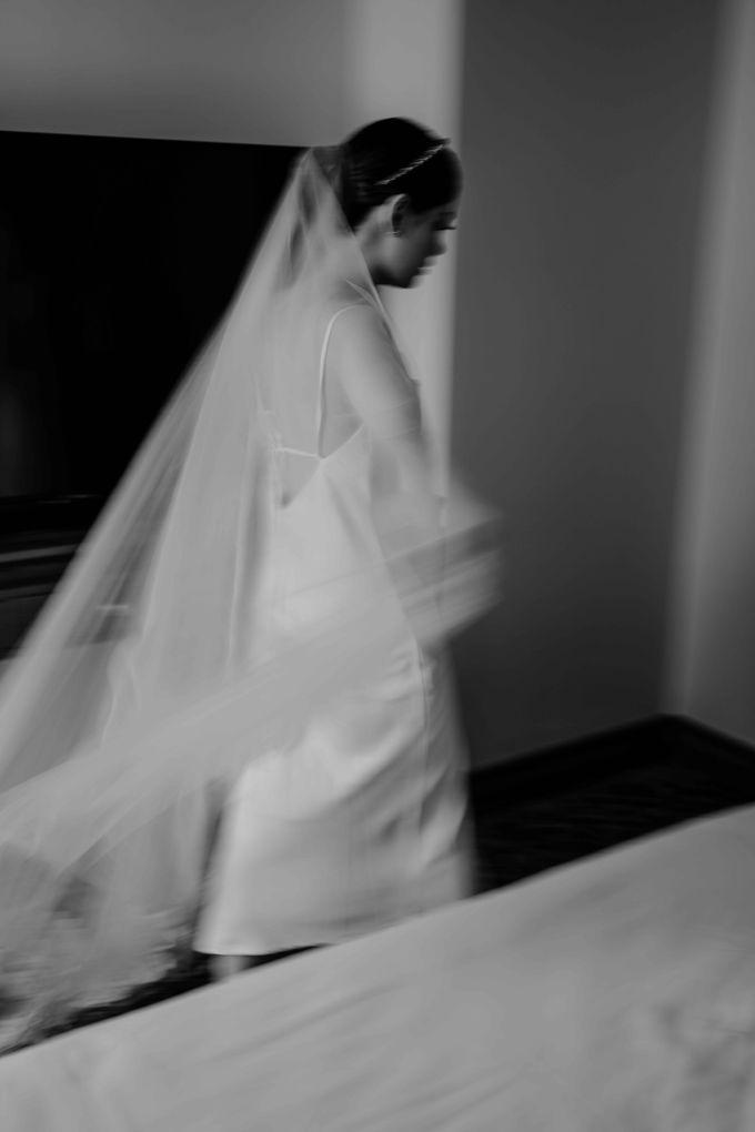 Hendra & Diana Wedding at Le Meridien Hotel Jakarta by AKSA Creative - 023