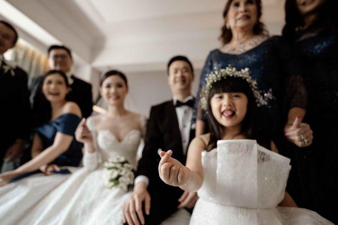 Hendra & Diana Wedding at Le Meridien Hotel Jakarta by AKSA Creative - 028